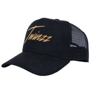 LIGHTNING-SUEDE-TRUCKER-Black-Gold-twinzz-sk