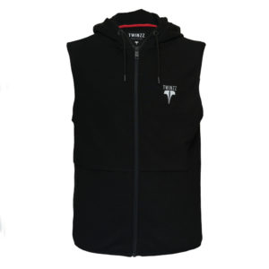 Shuttle-Active-Sleeveless-Hood-Black_Reflective-Front