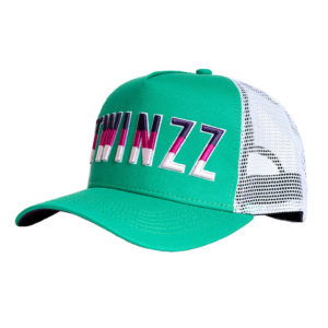 Twinzz-Gradient-Trucker-Forest-Grn-White-Purple