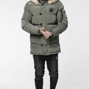 siksilk-shiny-puff-parka-khaki-p3870-34054_medium